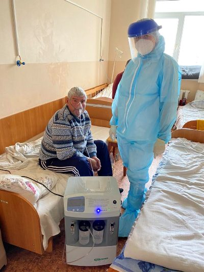 Допомога благодійного фонду «Духовна освіта» для лікарень реальніша, за державну