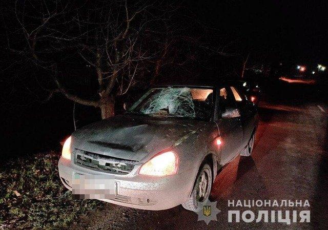 В Андрушівці 23-річна водійка ВАЗ насмерть збила пішохода. ФОТО