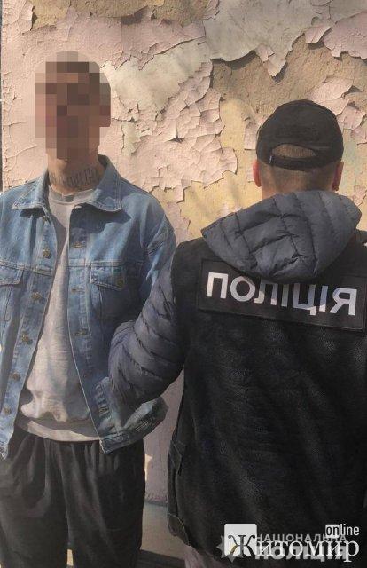 У Києві молодик з Житомирщини замовив підліткам пограбування свого знайомого в його день народження. ФОТО
