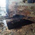 У селі на Житомирщині рятувальники гасили займання пожежі в будинку. ФОТО