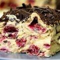 Торт без випічки «Вишневе блаженство»