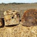 На Житомирщині пошуківці відкопали рештки солдат, що загинули в серпні 1941 року. ФОТО