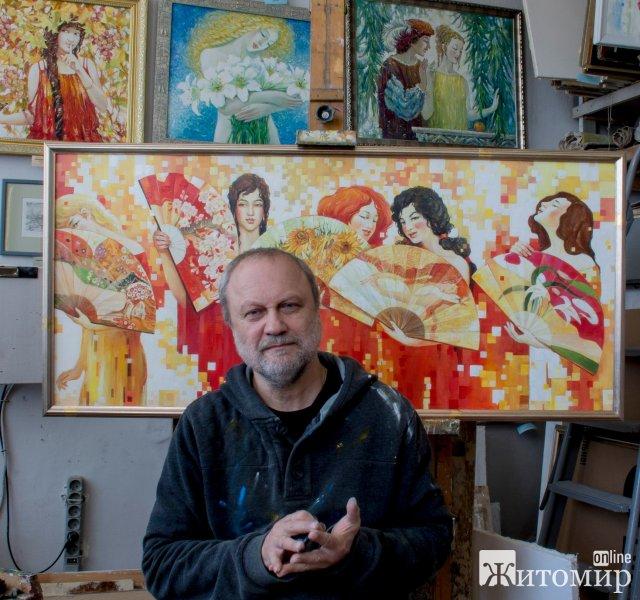 Сьогодні день народження святкує житомирський художник Юрій Дубінін