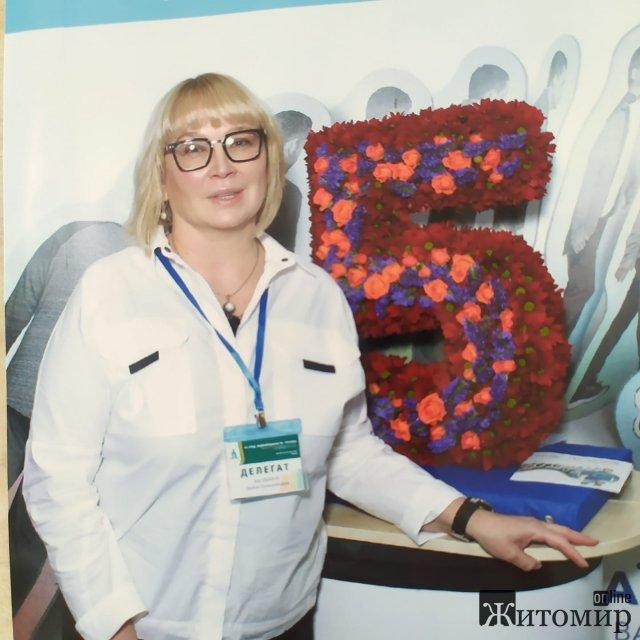 Відомий у Житомирі лікар-ендокринолог Любов Малафійчук святкує день народження