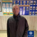 На одній з вулиць Житомира патрульні затримали чоловіка, який перебував у розшуку. ФОТО