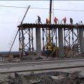 В області на чверть завершили будівництво мосту через залізницю на трасі Житомир-Чернівці. ВІДЕО