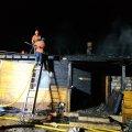За добу працівники ДСНС врятували від знищення вогнем два житлові будинки в Житомирській області. ФОТО