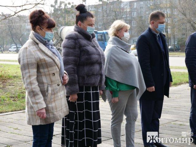 Житомиряни вшанували пам'ять жертв нацистських таборів. ФОТО