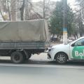 """ДТП у Житомирі за участі таксі """"BOLT"""". ФОТО."""