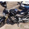 Рівненські поліцейські затримали чоловіка з Коростеня, який під час «тест-драйву» вкрав мотоцикл. ФОТО