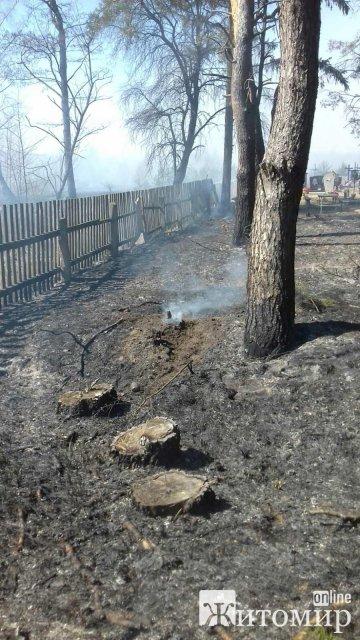Малинські рятувальники розповіли про пожежі у районі. ФОТО