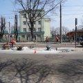 """У Житомирі біля №8 школи вже встановили """"острівець безпеки"""""""