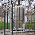 У житомирській лікарні №1 встановили 2-тонний резервуар для  рідкого кисню