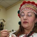 Житомирянка зібрала прадавні зразки символів, якими на Поліссі розписували писанки. ВІДЕО