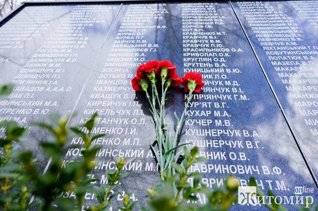 Голова Житомирської ОДА поїхав до Чорнобиля, аби відкрити меморіал ліквідаторам. ФОТО