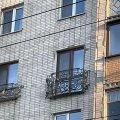 Два нових французьких балкони на Великій Бердичівській у Житомирі. ФОТО