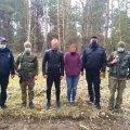 Житомирські прикордонники в зоні ЧАЕС затримали подружню пару з Рівненщини. ФОТО