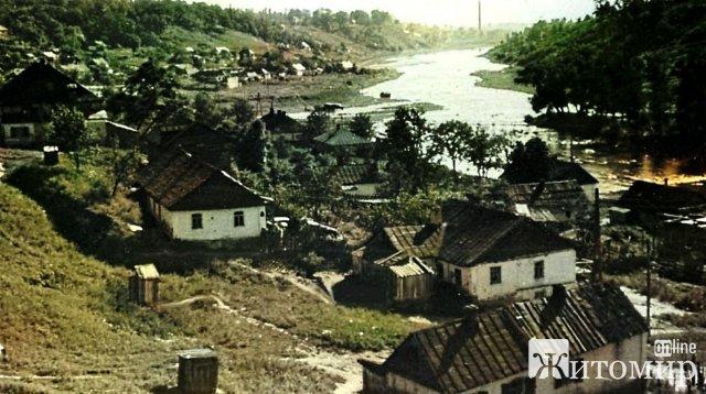 Як були заселені береги житомирського Тетерева у 1942 році. ФОТО