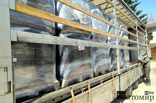 На водоканал привезли активоване вугілля, директор пообіцяв покращення якості питної води в Житомирі. ФОТО