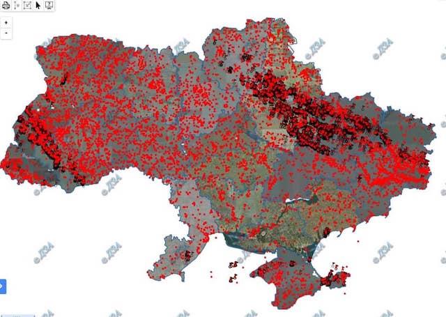 По природным ресурсам, Украина - на первых местах в мире