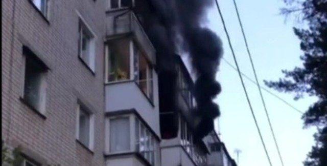 У Житомирі у палаючій квартирі загинув літній чоловік
