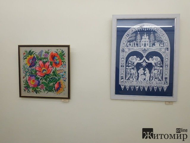 У Житомирі відкрилася виставка Заслуженої художниці України Наталії Аксьоненко. ФОТО. ВІДЕО