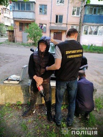 У Коростені затримали 23-річного закладчика метадону. ФОТО