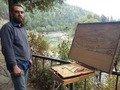 На Волині відкрили виставку молодого житомирського художника Сергія Носка. ФОТО