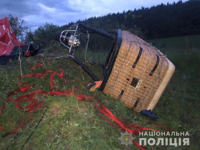 Повітряна куля впала на Хмельниччині, є жертви