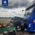 На Житомирщині ВАЗ зіштовхнувся з вантажівкою: водій легковика загинув. ФОТО