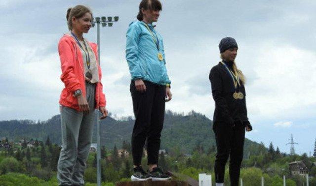 Житомирянка перемогла на чемпіонаті України з гірського бігу. ФОТО