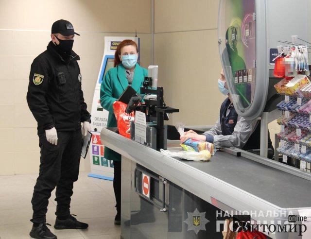З початку року поліцейські Житомирщини зафіксували понад 9,3 тисяч порушень карантину. ФОТО