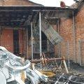 У Новограді-Волинському вогнеборці ліквідували займання в будівлі електропідстанції. ФОТО
