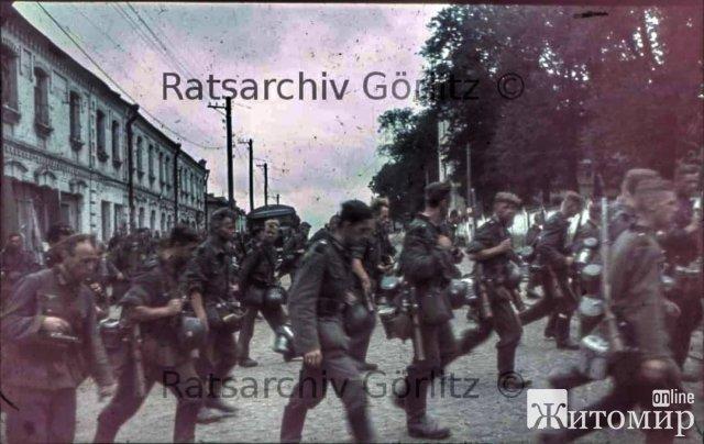 Фото Житомира зроблені німецькими солдатами