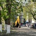 Що відбувається у дворі по вулиці Лятошинського в Житомирі. ФОТО