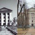 Яким був сквер за Будинком правосуддя в Житомирі у 50-60-х роках. ФОТО