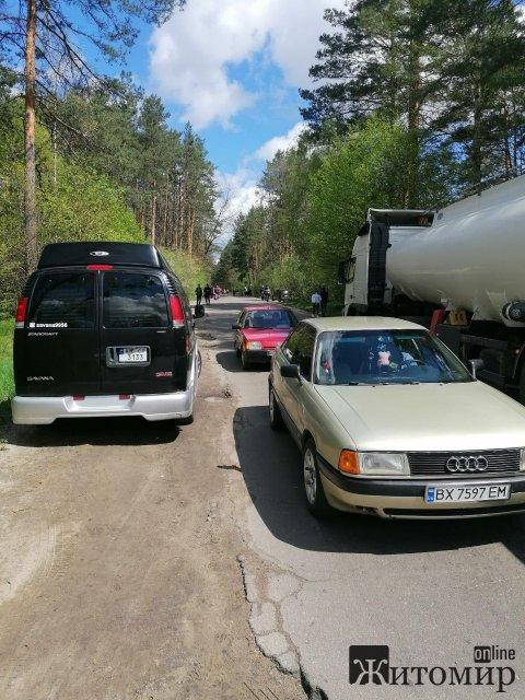 Житомирянина возмутила организация подъезда к кладбищу. ФОТО