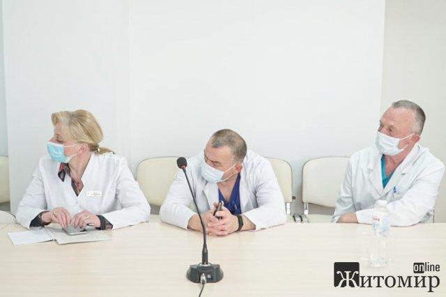 """У Житомирі за """"круглим столом"""" говорили про трансплантацію органів. ФОТО"""