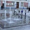 В Житомирі на Михайлівській запрацював фонтан Віржініо Фіданци. ФОТО
