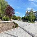 Спорожнілий Новий бульвар у Житомирі після реконструкції. ФОТО