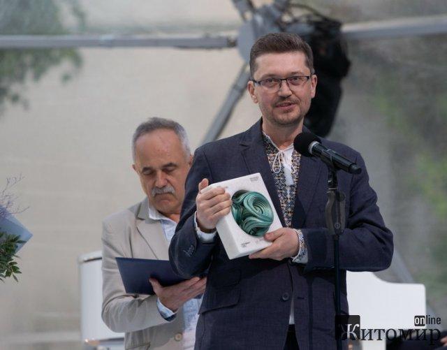 Кінорежисер з Житомира став лауреатом Шевченківської премії. ФОТО