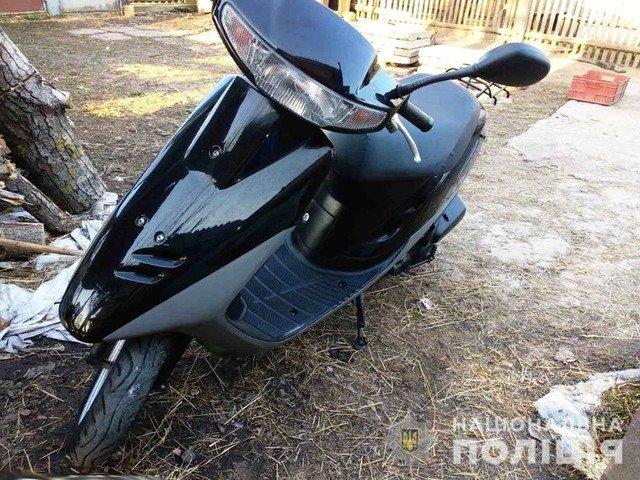 На Житомирщині неповнолітніх викрили в угонах мотоциклів. ФОТО