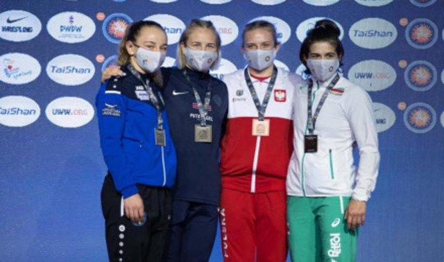Спортсменка з Житомирщини стала віцечемпіонкою рейтингового турніру з вільної боротьби. ФОТО