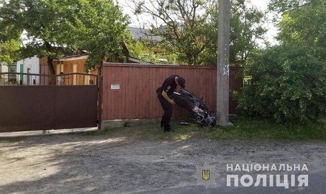 На Малинщині 16-річний мотоцикліст внаслідок ДТП потрапив до реанімації. ФОТО