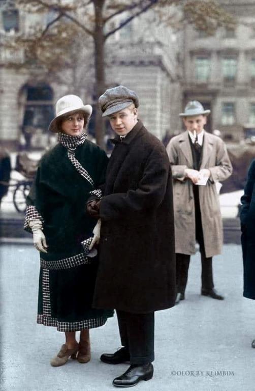 Уникальное фото Сергея Есенина и Айседоры Дункан