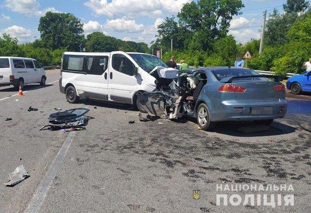 У Житомирському районі внаслідок ДТП травмувалися дитина та троє дорослих. ФОТО
