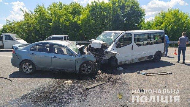 У Житомирському районі внаслідок ДТП загинув чоловік. ФОТО