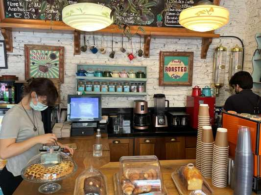 Ще одна з найкращих стамбульських кав'ярень. ФОТО