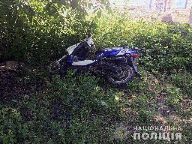 На Житомирщині розшукали двох крадіїв мототранспорту. ФОТО