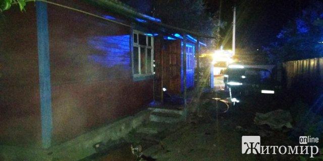 У Коростені на пожежі загинули дві людини. ФОТО